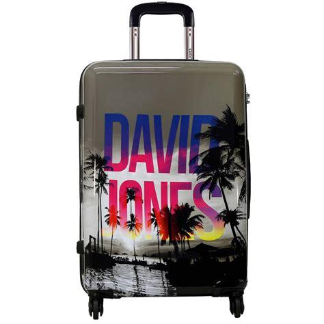 valise rigide david jones 76cm ba20581g couleur principale palmiers solde bleucerise