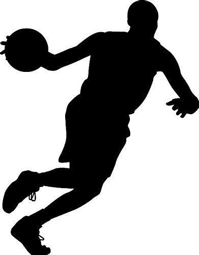 basketball silhouette  getdrawings