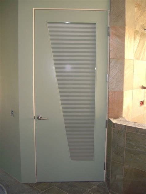 bathroom door contemporary glass designs by etched carved sans soucie