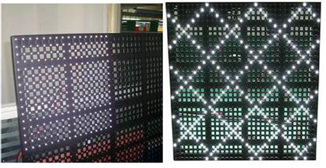 p20 mesh curtain led display