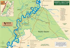 South Luangwa National Park Map