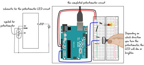Chapter Potentiometer Circuit Step Arduino