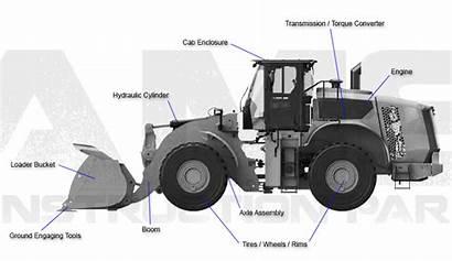 Loader Parts Wheel Equipment Caterpillar Deere Komatsu