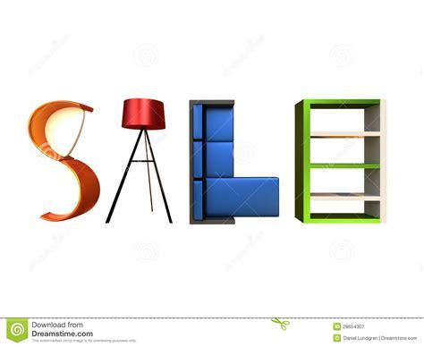 Furniture Sale by Furniture Sale Stock Illustration Illustration Of