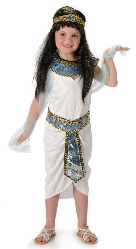 cleopatra kostã m kinder cleopatra costume kinder karneval kost 252 me mega fancy dress