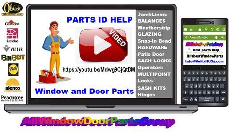 patio screen door roller assembly parts biltbest window parts