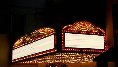 Marquee Theater Night Lighted Space Areas Copy