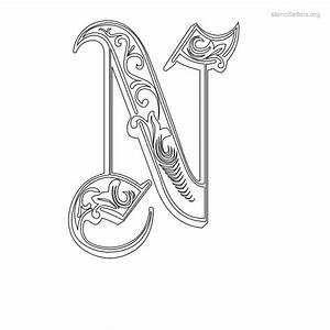 stencil letters n printable free n stencils stencil With decorative letter stencils