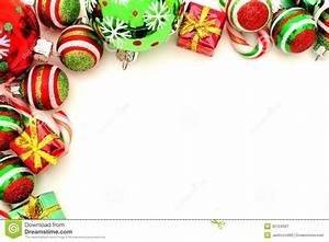 Christmas Ornaments clipart top border - Pencil and in ...