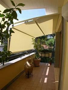 balkon markisen sicht und sonnenschutz vertikal pflanzen With markise balkon mit moderne tapeten mit kreisen