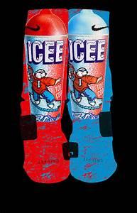 Popular Icee Custom Nike Elite Socks by KristinAnnBoutique ...