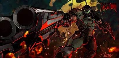 Doom Eternal Slayer 4k Pc Wallpapers Mobile