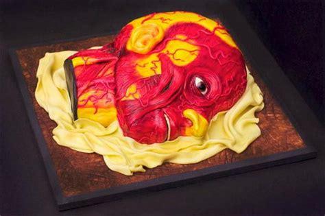 disturbing human head cake  conjurers kitchen