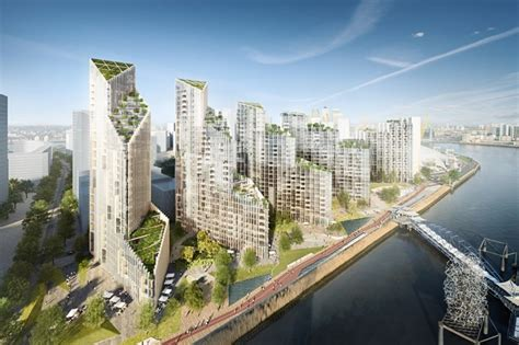 Mace tops out at Greenwich Peninsula's Upper Riverside | Mace