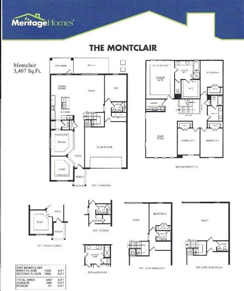 awesome ryland homes orlando floor plan  home plans design