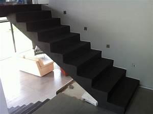 Habillage Escalier Interieur : renovation escalier beton interieur dw71 jornalagora ~ Premium-room.com Idées de Décoration