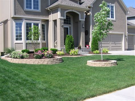 Combined Front Yard Ideas  Landscape Designs For Your Home