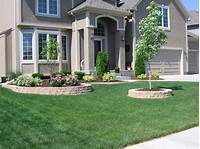 landscape ideas for front of house Combined Front Yard Ideas   Landscape Designs For Your Home