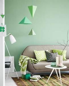 Farben Für Die Wand : wohnen mit farben wand in gr n bild 7 sch ner wohnen ~ Michelbontemps.com Haus und Dekorationen