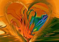 Abstract Broken Heart