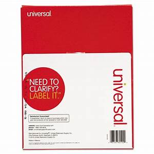 unv80102 universalr laser printer permanent labels zuma With universal laser printer labels template