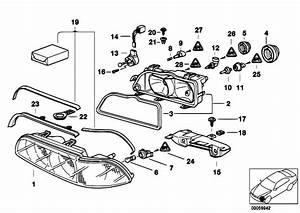 Original Parts For E39 520d M47 Sedan    Lighting