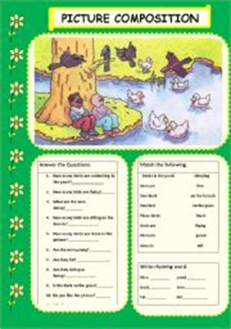 picture composition esl worksheet by jhansi