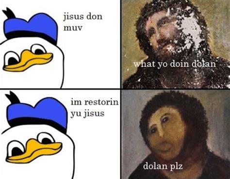 Plz Meme - the internet responds botched ecce homo painting meme memes