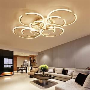 Plafonnier Design Salon : lustre pour salon moderne lustre de salon moderne triloc ~ Teatrodelosmanantiales.com Idées de Décoration