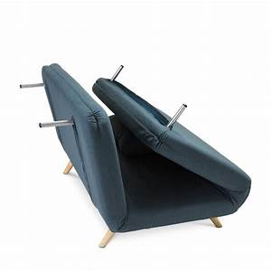 Canape design scandinave clic clac 2 places john for Canapé deux places convertible