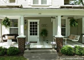 Vintage Home Love Spring Summer Porch Idea Front Porch Designs For Minimalist House