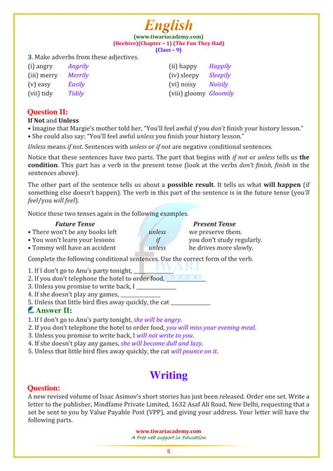 ncert solutions  class  english beehive chapter