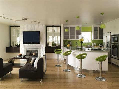 idee deco salon cuisine ouverte dcoration cuisine ouverte decoration salon avec cuisine