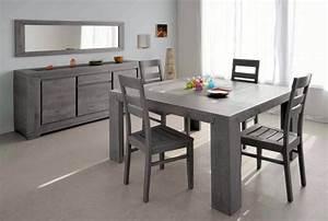 Salle a manger complète Conforama table carrée Meuble et décoration Marseille mobilier