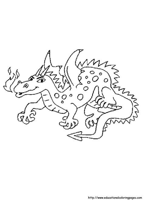 dragon coloring page   kids