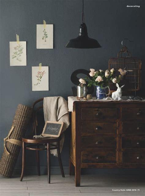 bedroom colors  steel grey walls  dark wood
