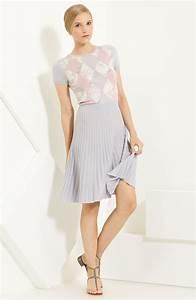 Valentino Knit Dress in Purple (lavender)   Lyst