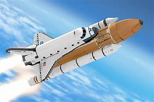 LEGO reviewing fan-created space shuttle, Saturn V launch ...