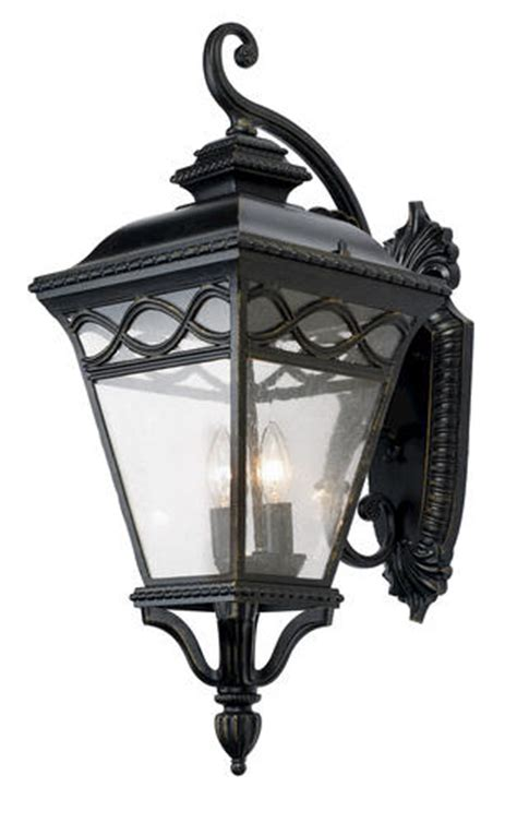 patriot lighting 174 home graham 3 light 27 quot outdoor