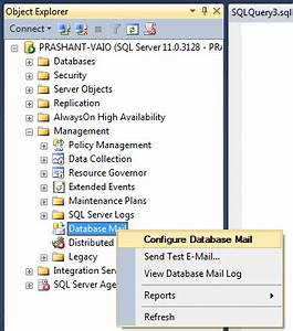 SQL Server – Configure Database Mail to Send Email Using ...