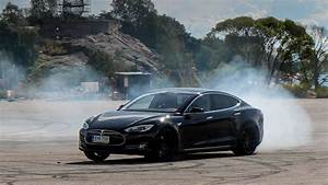 Drifting An Electric Tesla Model S - Gumball 3000