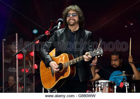 elo electric light orchestra jeff lynne stock photo