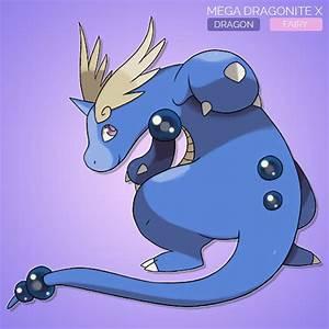 Concept - Mega Dragonite X by sunei-pokemon on DeviantArt