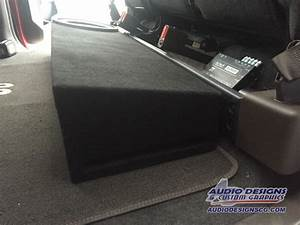 2015-17 Ford F150 Subwoofer Box