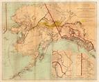 Fine early map of Alaska and the Klondike Region ...