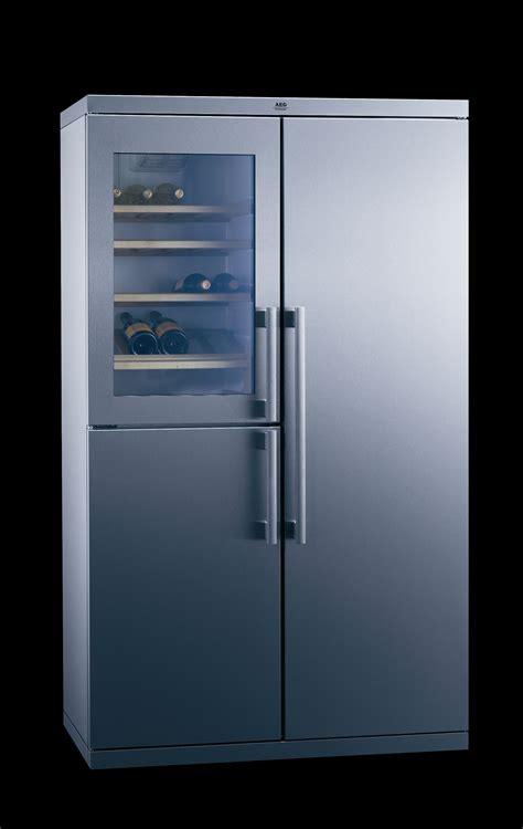 combine refrigerateur congelateur avec cave  vin aeg