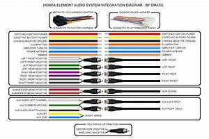 Clarion 16 Pin Car Radio Wiring Diagram