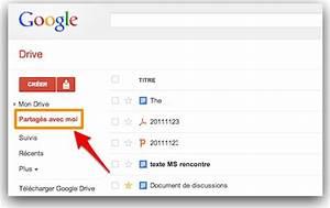 google drive comment synchroniser les documents partages With partage de documents google drive