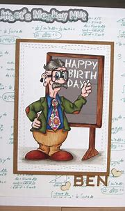 Professor Bens Birthday.   Birthday, Professor, Cards