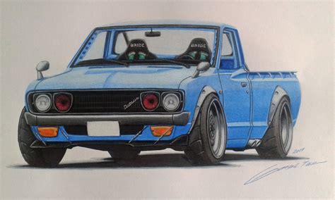 Datsun Drift by Datsun 620 Drift Truck Nuno Teixeira Draw To Drive